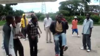 Zimbabweans dancing to DJ Cndo`s Terminator