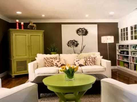 Living room ideas yellow walls home design 2015 youtube for Living room decor 2015