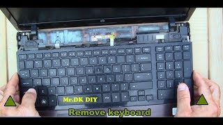 How to Disassembly and thermal compound paste replacement to Laptop /HP ProBook 4520s DIY 2018