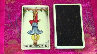 The Hanged Man Major Arcana #12 - Interpretation and Meaning in a Tarot Card Reading