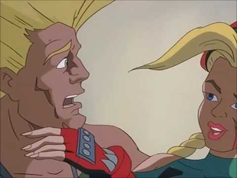 Street Fighter TAS - Cammy Kisses Guile