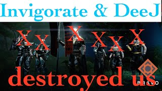 We Got Our Butts Kicked by Invigorate and DeeJ :: Destiny :: Bungie Bounty Crucible Gameplay