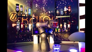Robot/Robotic Bars to help tackle Covid-crisis in hospitality industry?-Barney Bar