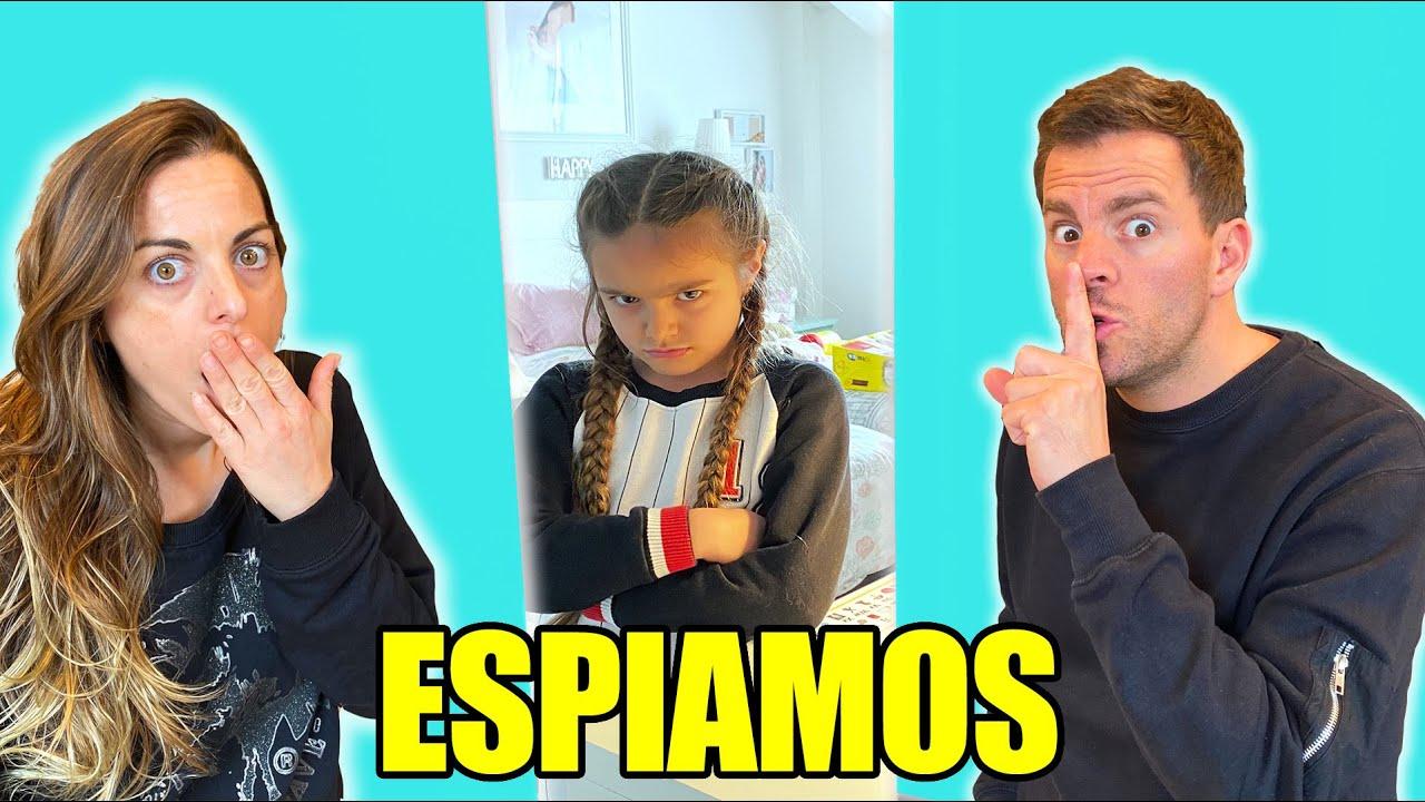 Download ESPIAMOS A MIS HIJAS GISELE Y CLAUDIA PERO SE ENFADAN Itarte Vlogs