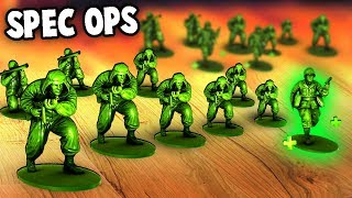 the BEST UNIT - Special Forces Spy Army Men (Toy Generals - Green Army Men Game)