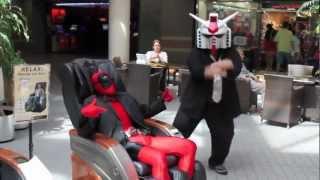 Crazy Deadpool dancing Gangnam Style