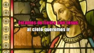 Estamos De Fiesta Con Jesus - Con Letras (Padre Mario)