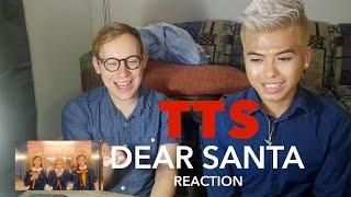 TTS Dear Santa MV (English Ver) Reaction