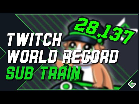 WE BROKE TWITCH'S GIFTED SUBSCRIPTION WORLD RECORD
