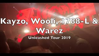 Kayzo, Our Last Night, 1788-L, Wooli, I See Stars & Warez Unleashed Tour Aragon Ballr ...