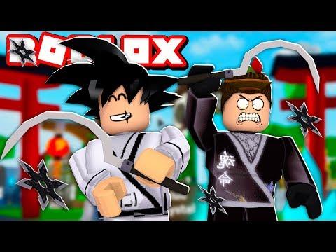 TREINAMENTO PARA VIRAR UM NINJA NO ROBLOX!! (Ninja Legends)