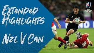 Extended Highlights: New Zealand 63-0 Canada - Rugby World Cup 2019