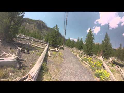 Fairy Falls Hike - Yellowstone National Park  7-31-2013 Edit