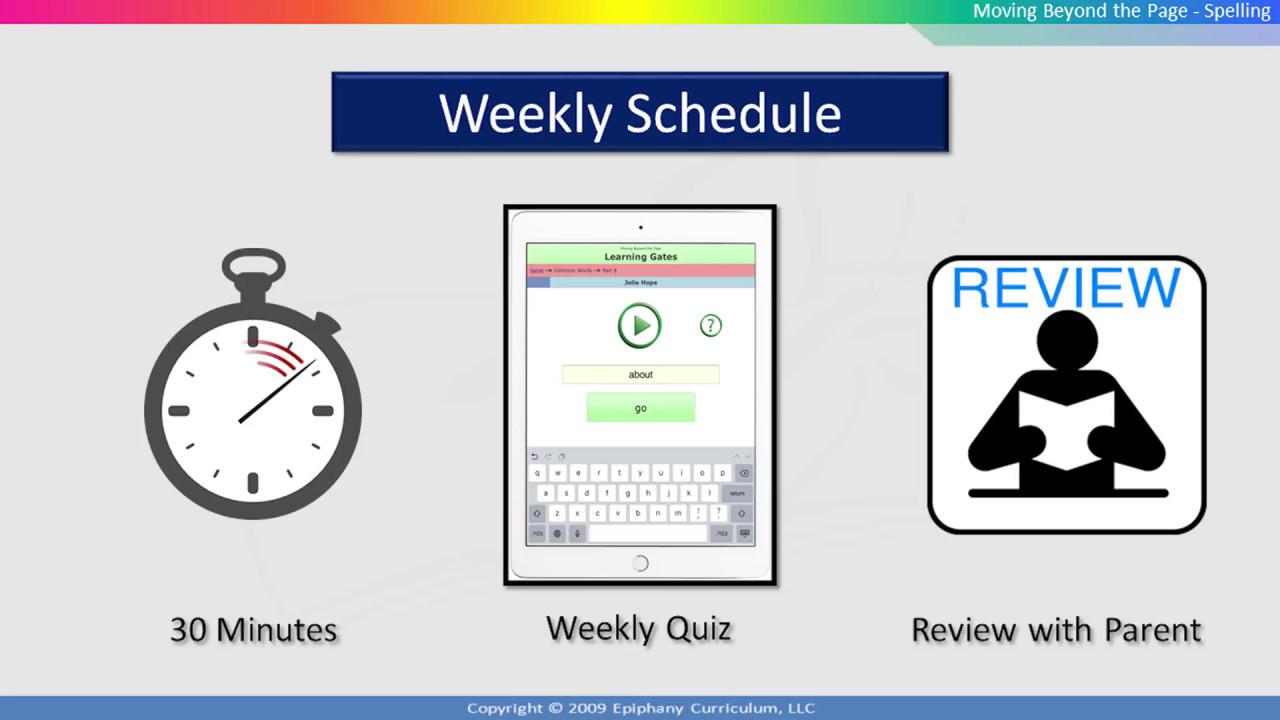 Online Spelling Program - Quick Start Guide for Parents and Teachers