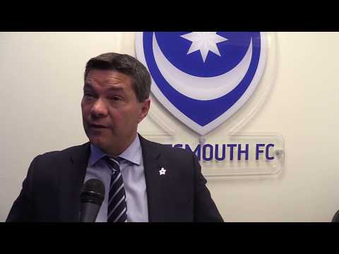 Chief executive Mark Catlin discusses Portsmouth FC