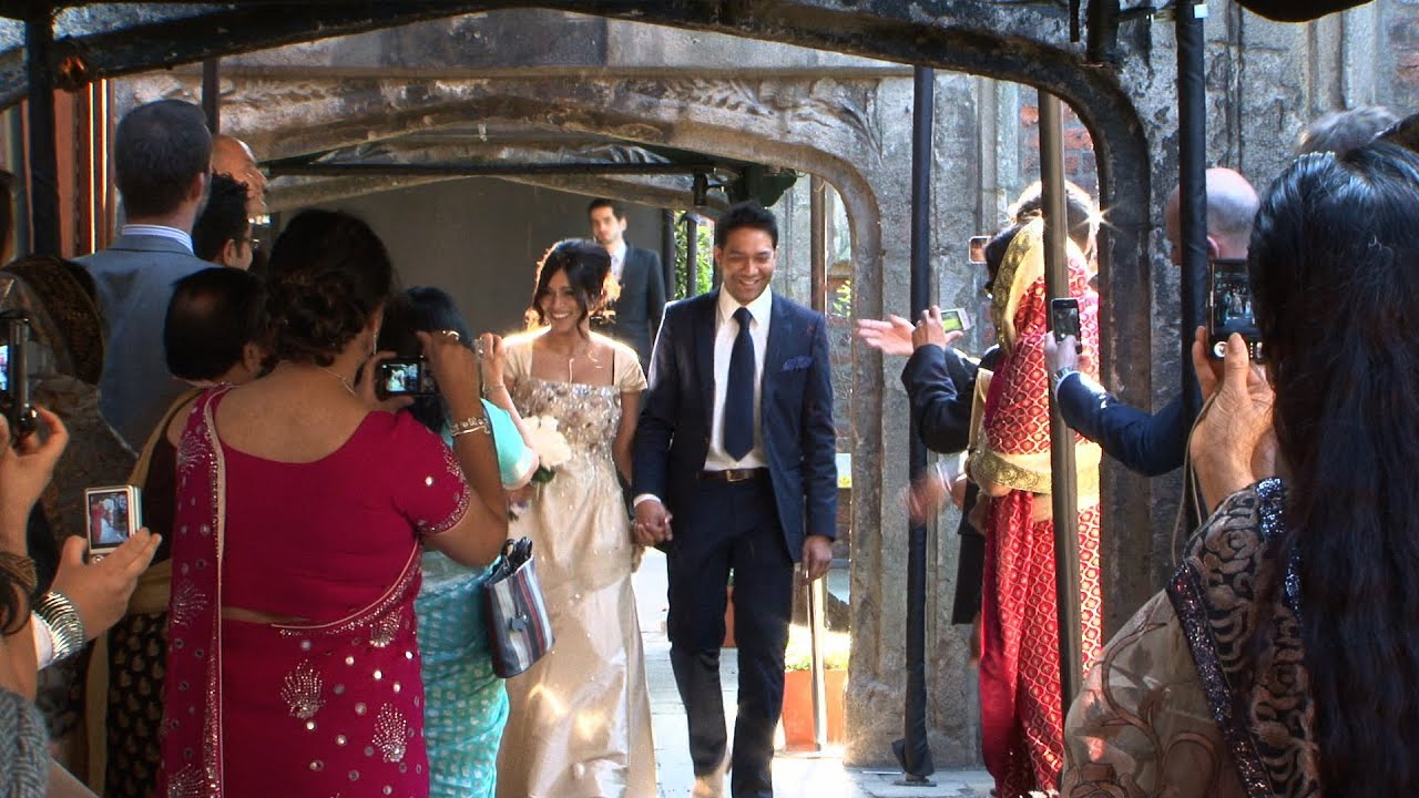 Wedding Video Kensington Roof Gardens | Portobello Films   YouTube