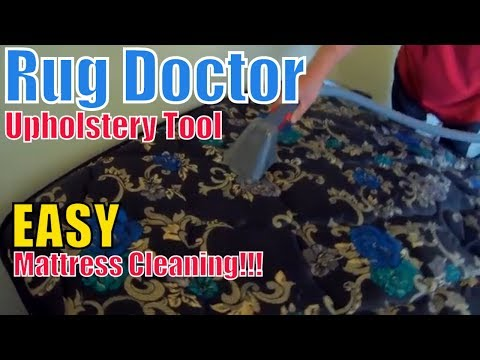 Rug Doctor Makes Mattress Cleaning EASY!
