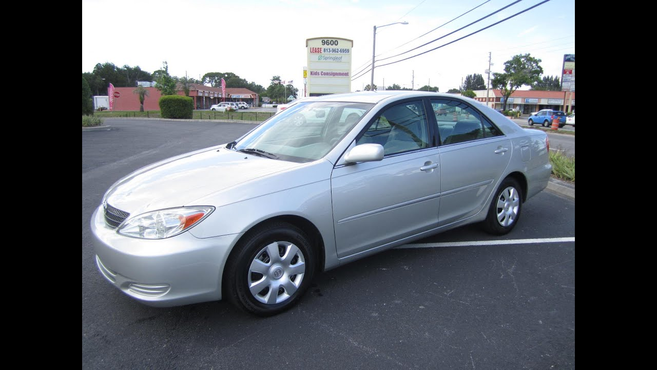 Sold 2003 Toyota Camry Le Vvt