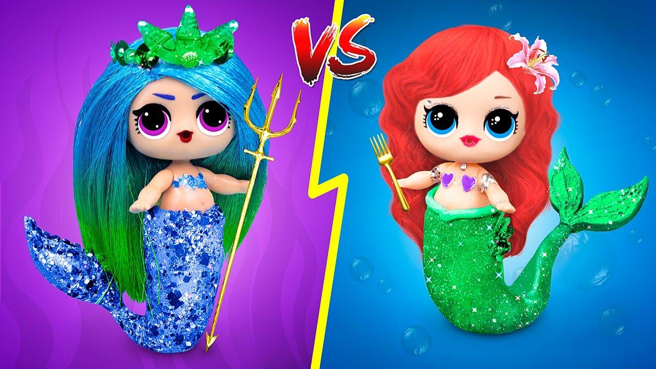 12 Ideas para Sirena Buena vs Sirena Mala