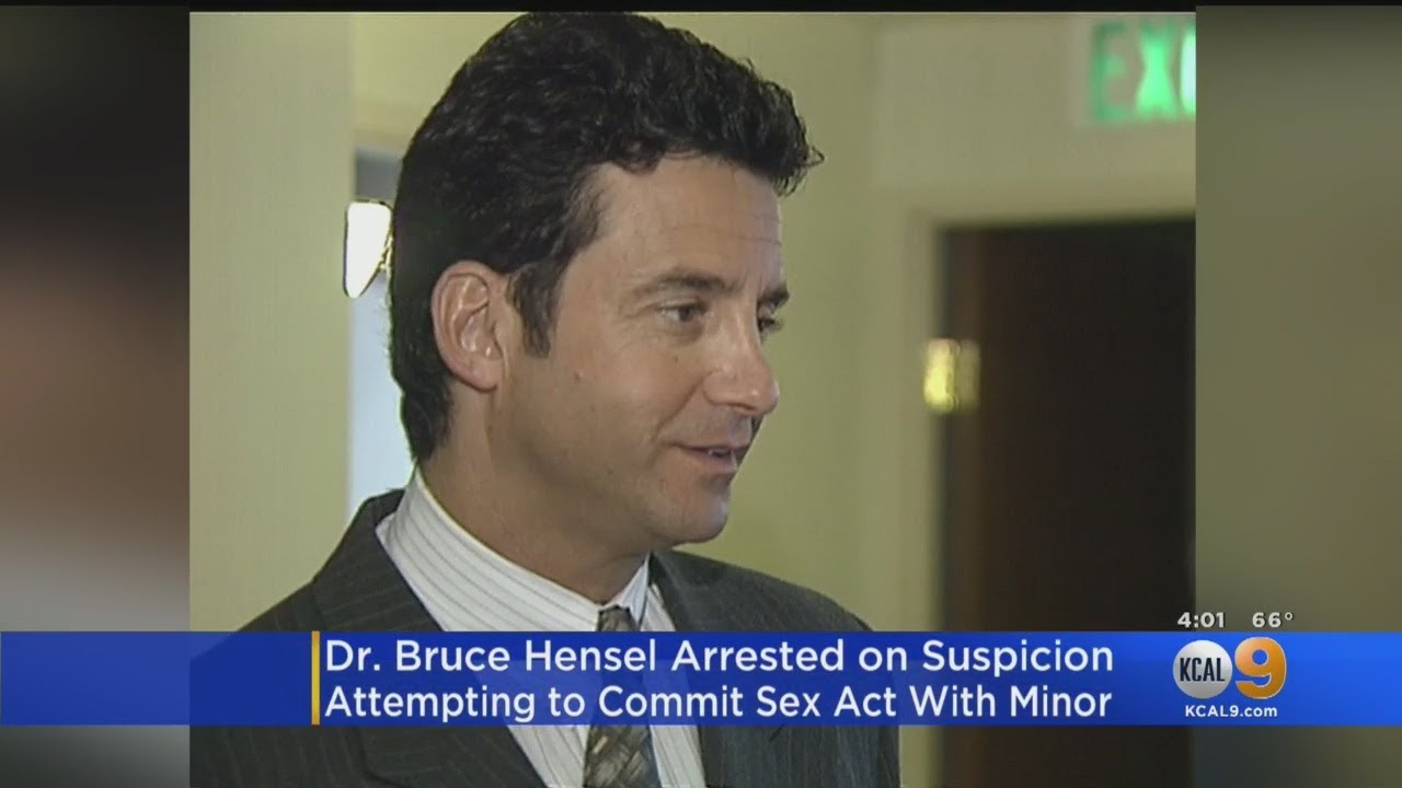 Former TV Correspondent Dr. Bruce Hensel Taken Into Custody By LAPD Juvenile Division Investigators
