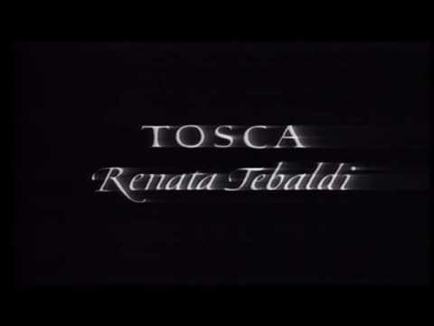 Tosca. Giacomo Puccini. Renata Tebaldi.