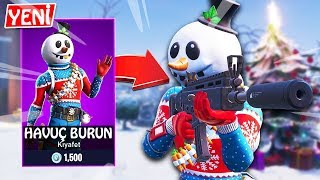 New Comesnowman (Carrot Nose) Deagle Pump Edging With Skin | Fortnite English Ps4