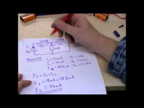 Kirchhoff's Law - Simple Demo and Sample Explanation