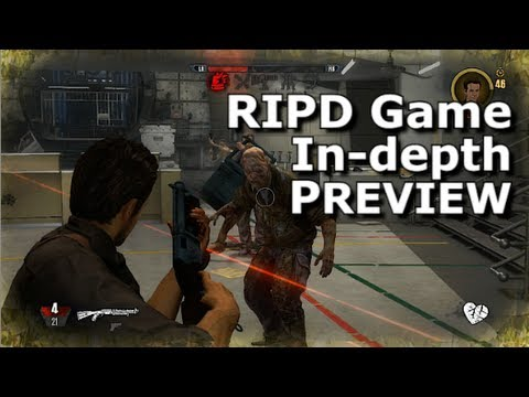 R.I.P.D.: The Game - 15 Minute Preview (Characters, Weapons, Abilities, Gameplay, etc...)