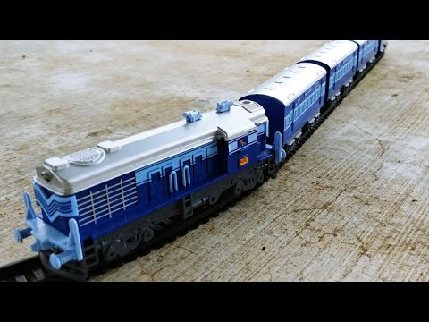 Centy toys Indian Passenger Train | Battery operated passenfer train model | Miniature Train video