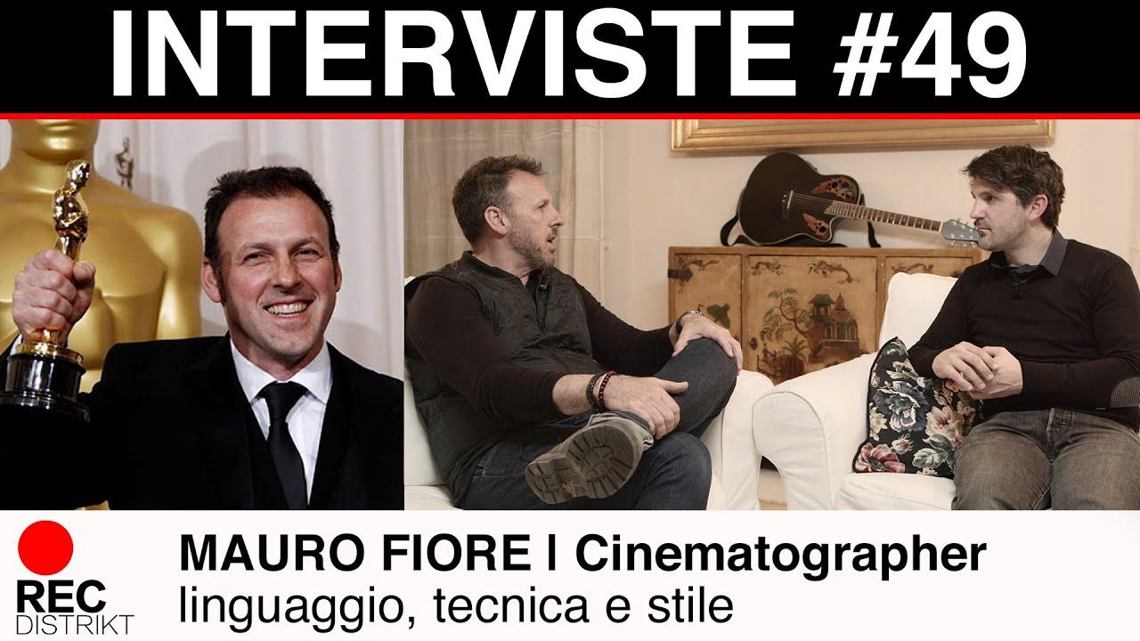 Mauro Fiore   Intervista esclusiva   (Eng Sub) Linguaggio, tecnica e stile