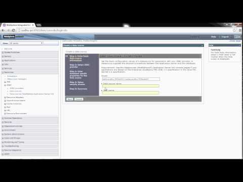 Configuration DB2 datasource in WebSphere Application Server  V8 5  on windows