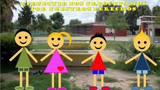 """Enrédate, Grupo Lequeitio, equipo 3 """"Derechos de los Niños""""."""