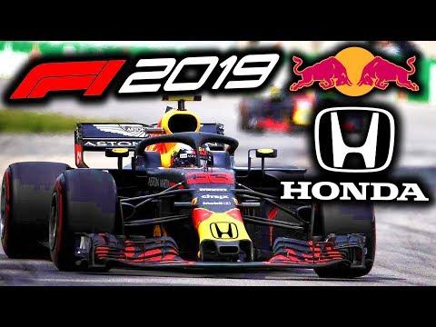 F1 2019: Red Bull use HONDA engine in the 2019 Formula 1 Season