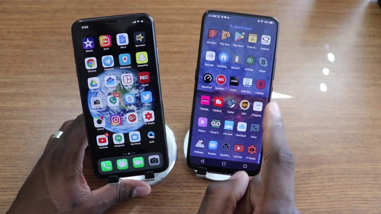 iPhone XS Max VS Vivo Nex S
