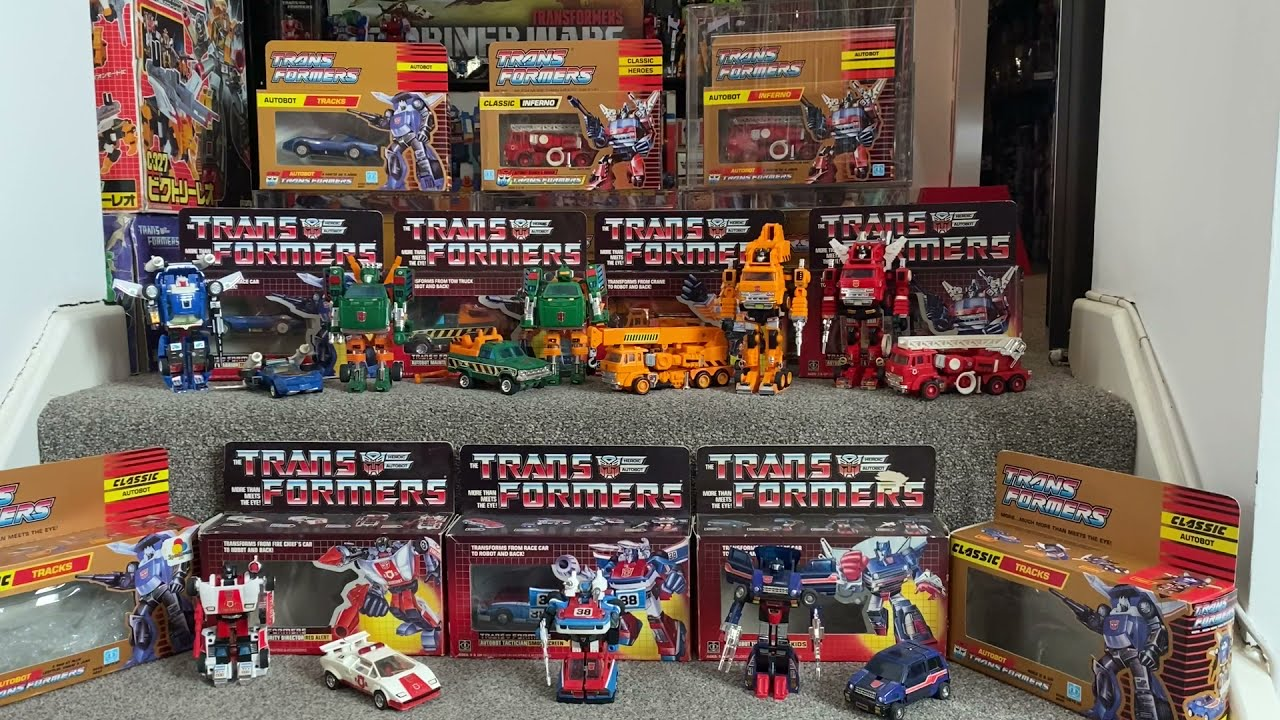 Transformers G1 Series 2 Autobot Cars American & Eurpean by Toys Are Russ