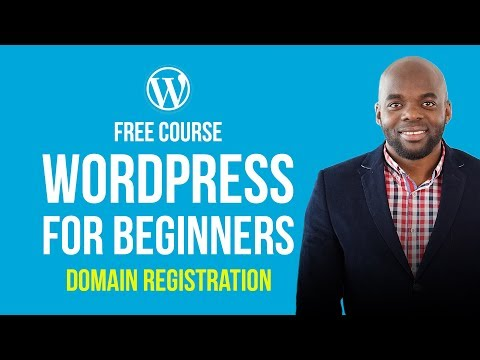 WordPress for beginners: How to register a domain name