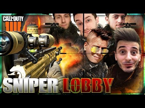 Super Sniper Lobby w/Gabbo, Rohn, Delux, Lama - Call of Duty: Black Ops IIII thumbnail