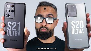 Samsung Galaxy S21 Ultra vs S20 Ultra