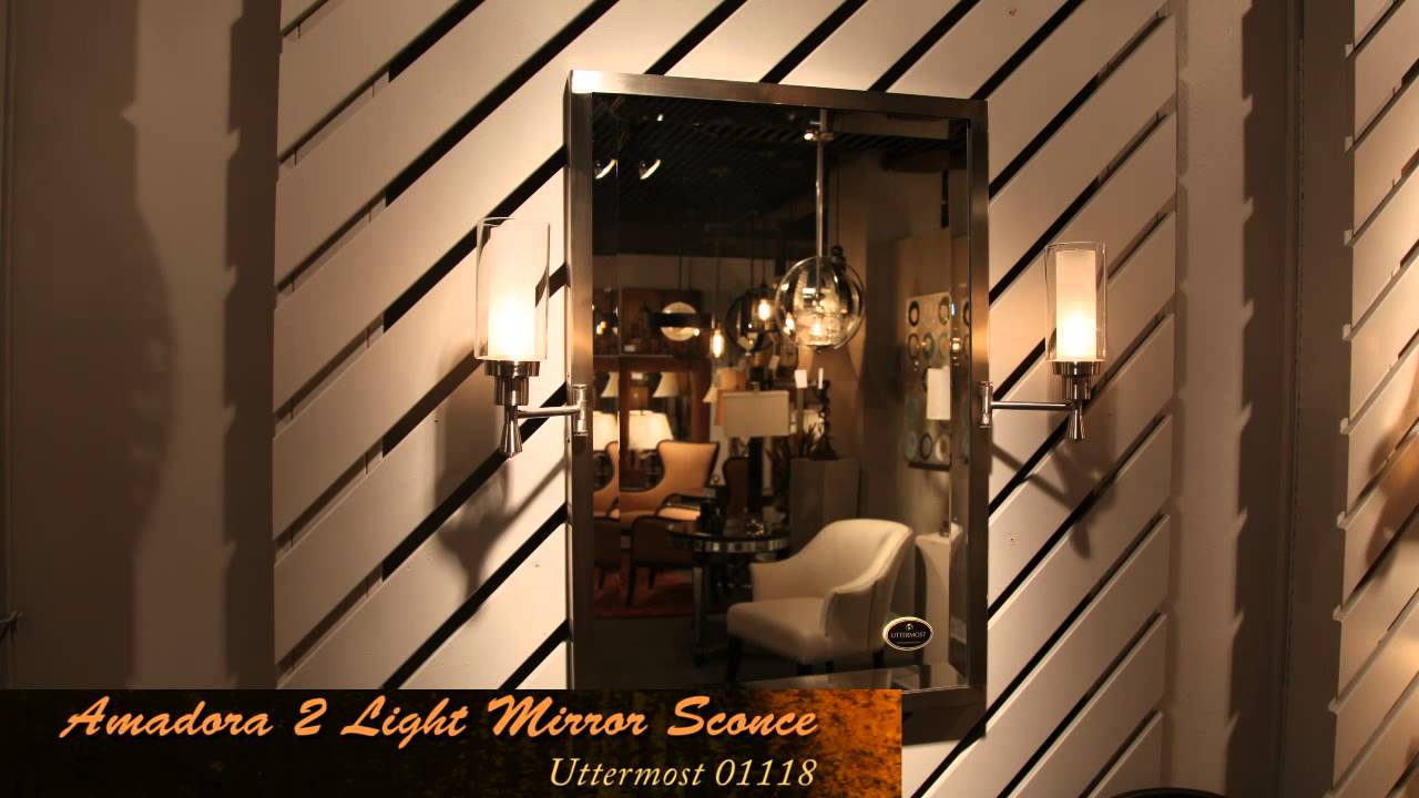 Uttermost 01118 wall sconce mirror youtube uttermost 01118 wall sconce mirror amipublicfo Gallery