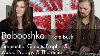 kate bush   babooshka cover theremin session 7