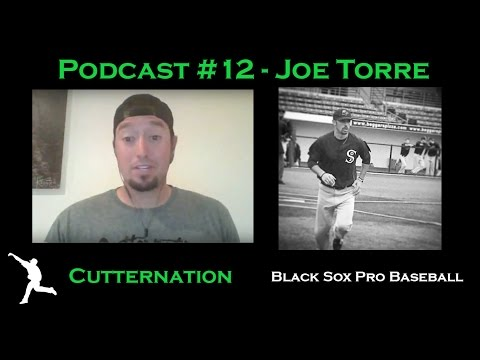 Cutternation Podcast #12 with Joe Torre of Black Sox Pro Baseball