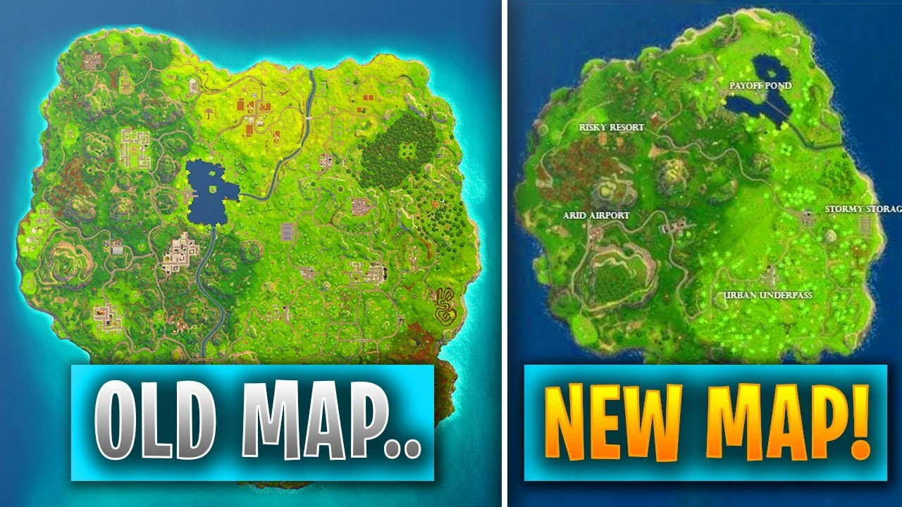 fortnite map - new map in fortnite