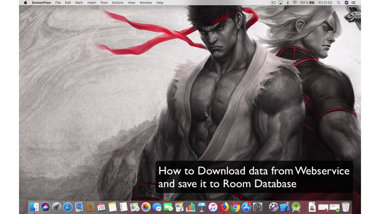 Android Kotlin: How to download data from webservice and store in Room DB