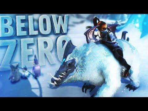 Subnautica Below Zero - DEFEATING THE BEAST! New Snow Stalker & Leviathan - Below Zero Updates
