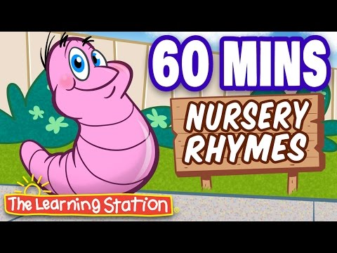 Herman the Worm  Popular Nursery Rhymes Playlist for Children  by The Learning Station