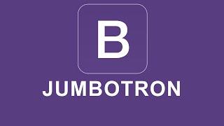 Bootstrap 4 Tutorial 18 - Jumbotron thumbnail