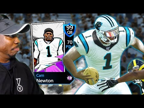 99 OVR CAMPUS HEROES CAM NEWTON Is UNSTOPPABLE! Madden Mobile 20 Pack Opening Gameplay Ep. 23