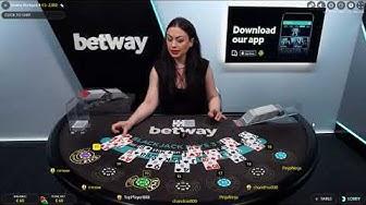 100 € LIVE BLACKJACK - BETWAY CASINO- WIN or LOSE