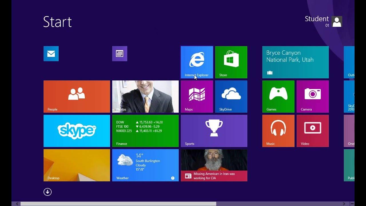Windows 8.1: Live Tiles