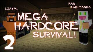 2 minecraft pan śmietanka z jaskiniowcem mega hardkorowy survival gang orpi